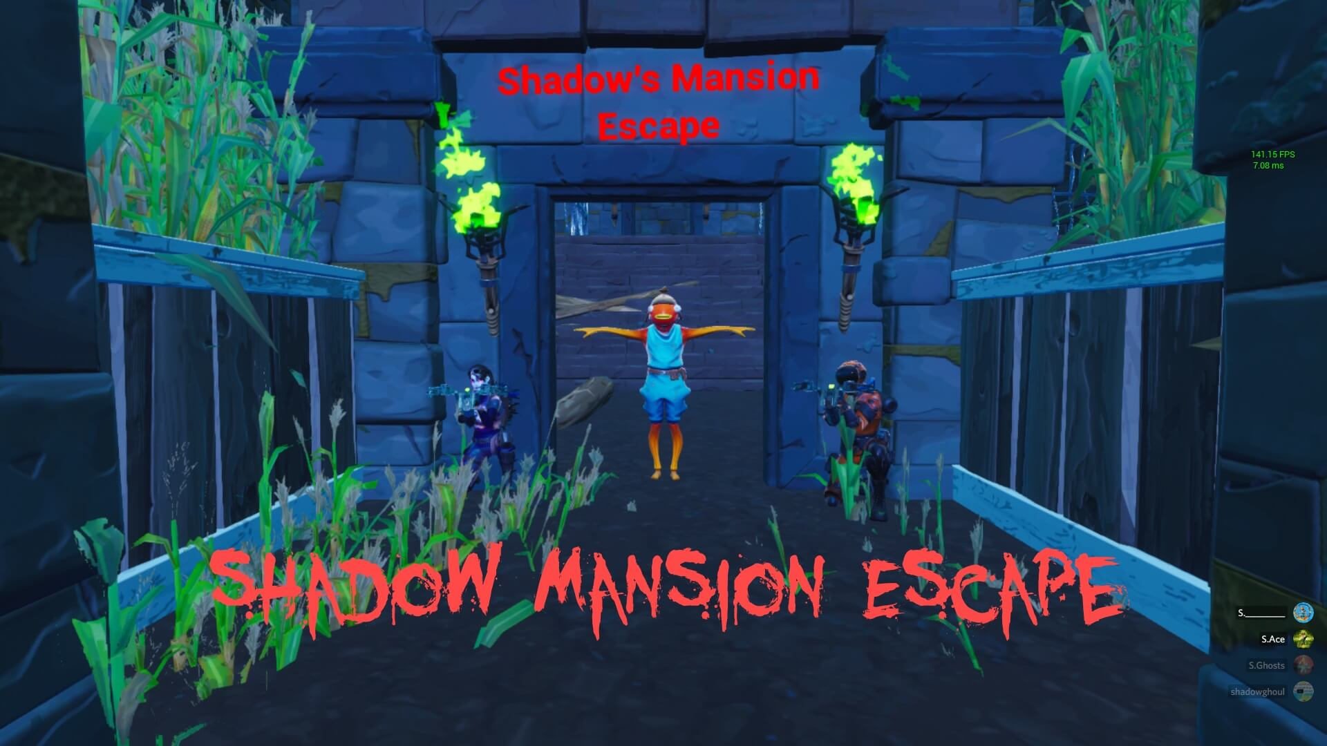 SHADOW MANSION ESCAPE