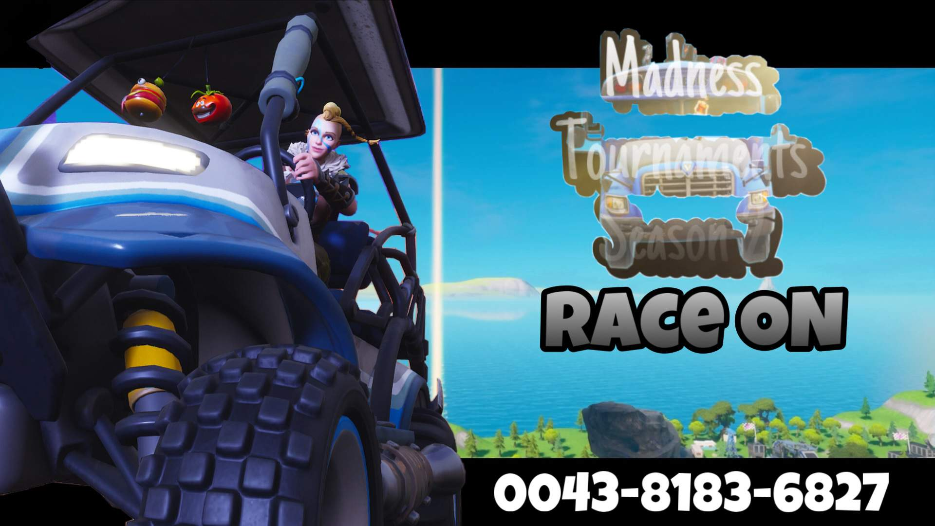 MADNESS TOURNAMENTS S2 RACE ON
