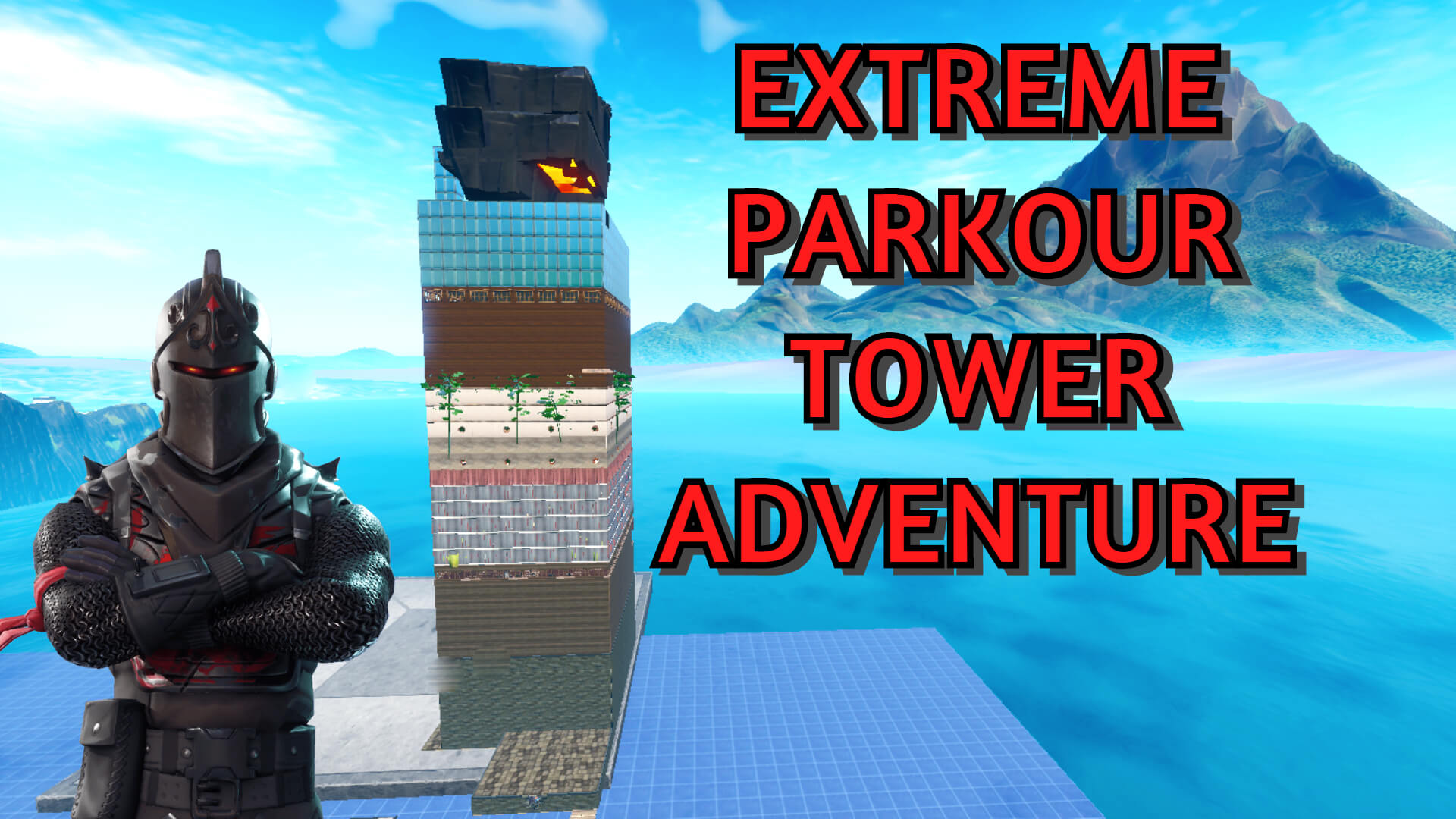 EXTREME PARKOUR ADVENTURE TOWER