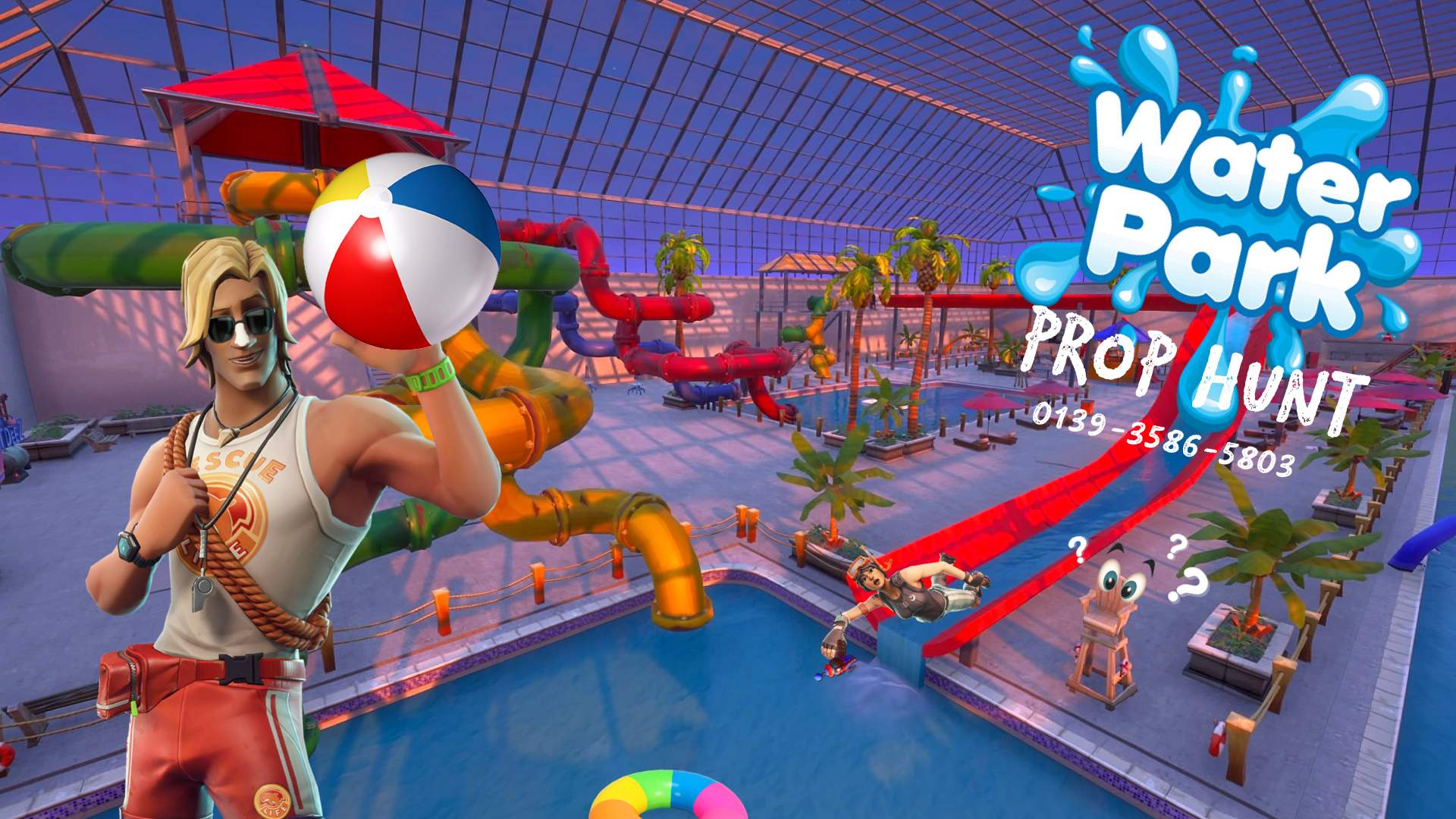 INDOOR WATER PARK PROP HUNT