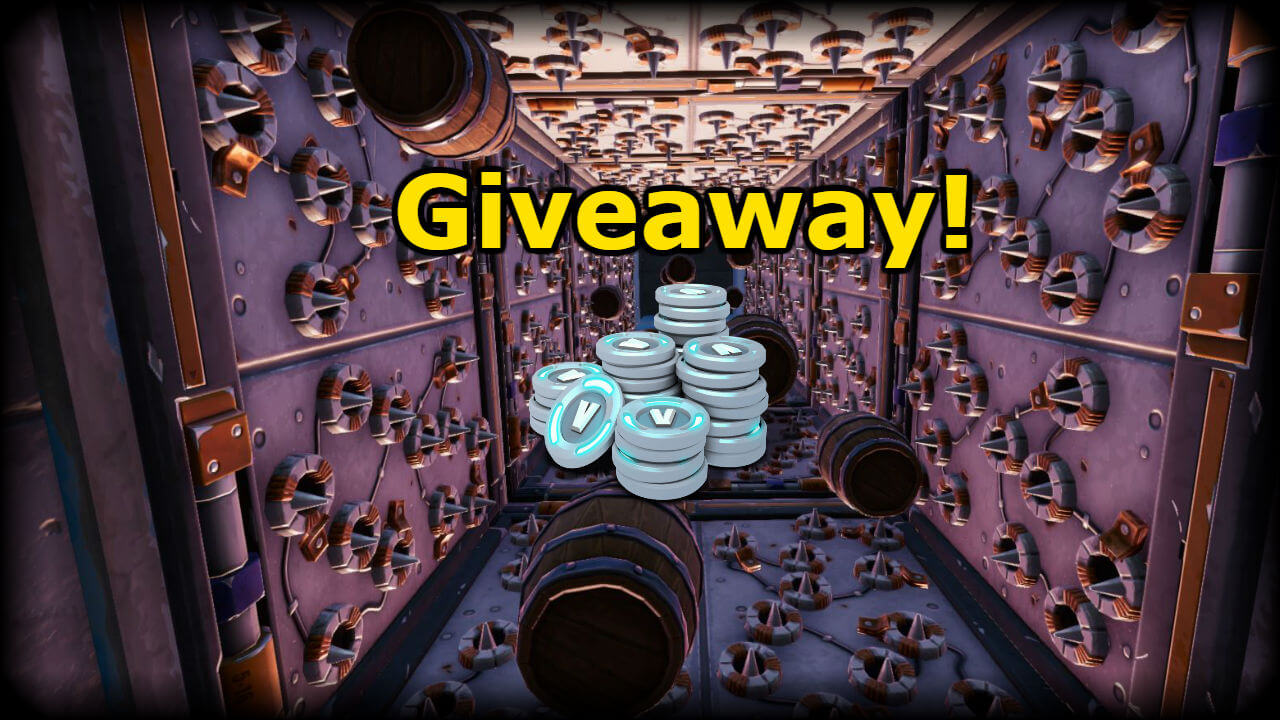 THE GIVEAWAY RUN!