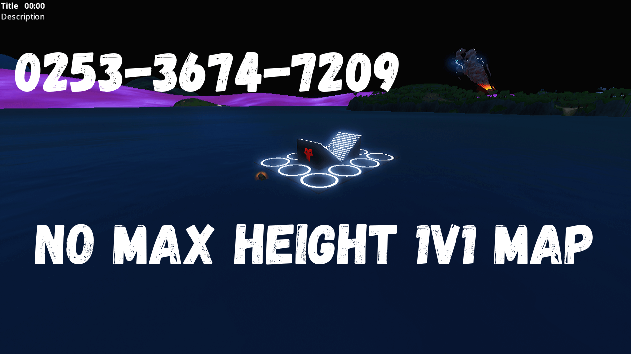 NO MAX HEIGHT 1V1 MAP