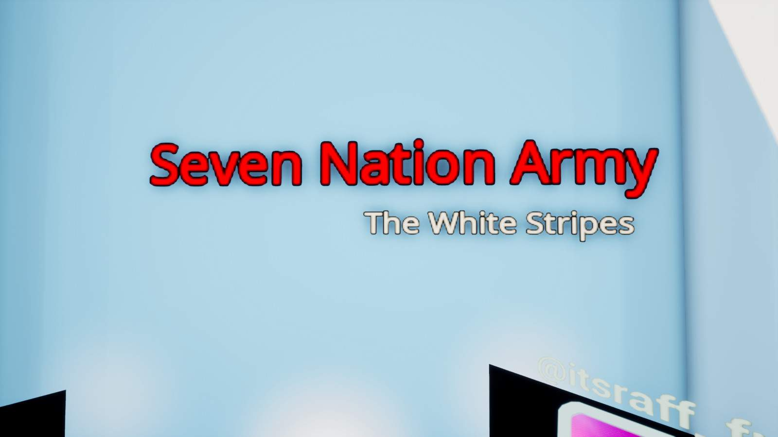 SEVEN NATION ARMY MUSIC BLOCKS