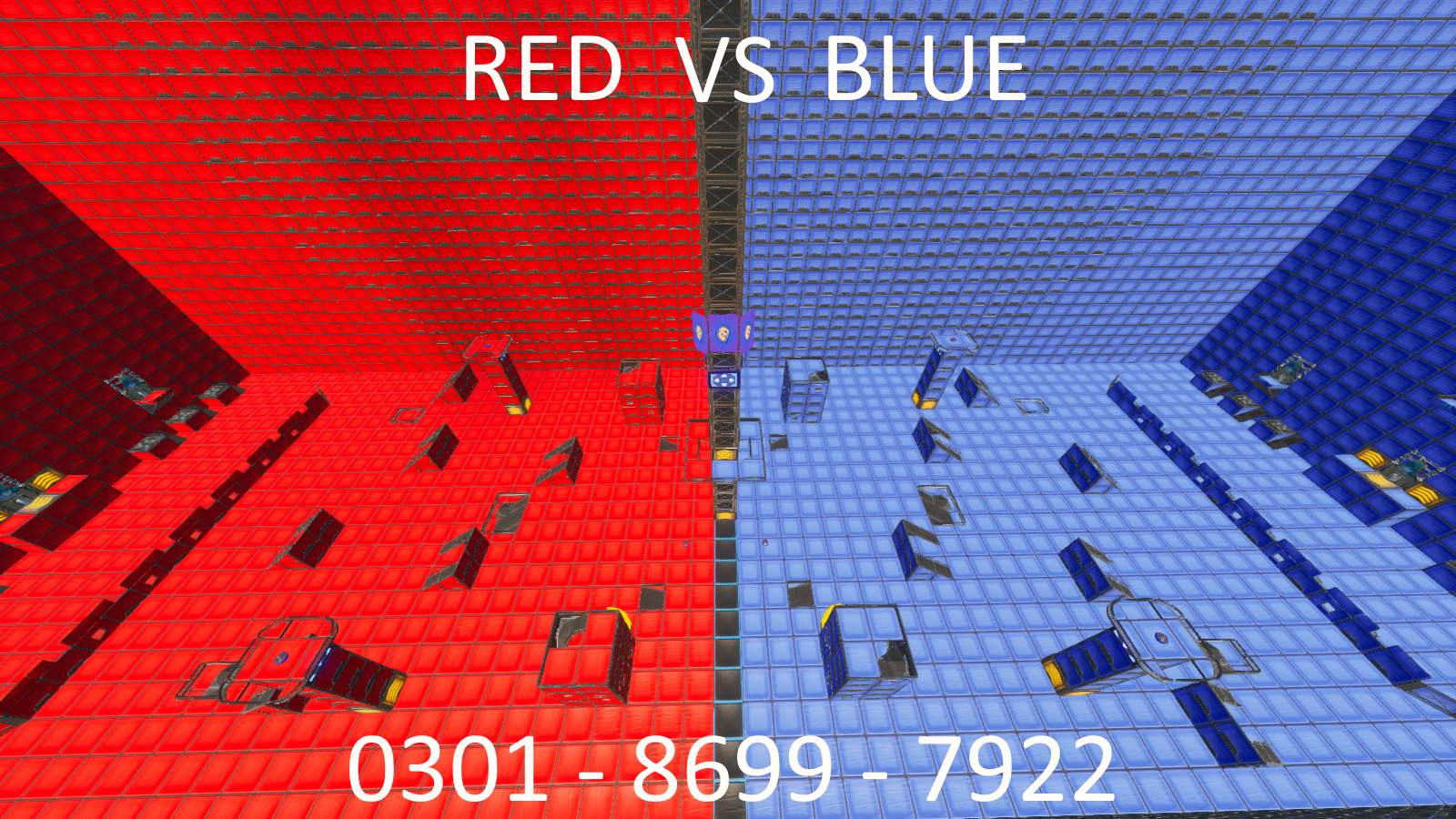 RED VS BLUE MEGA