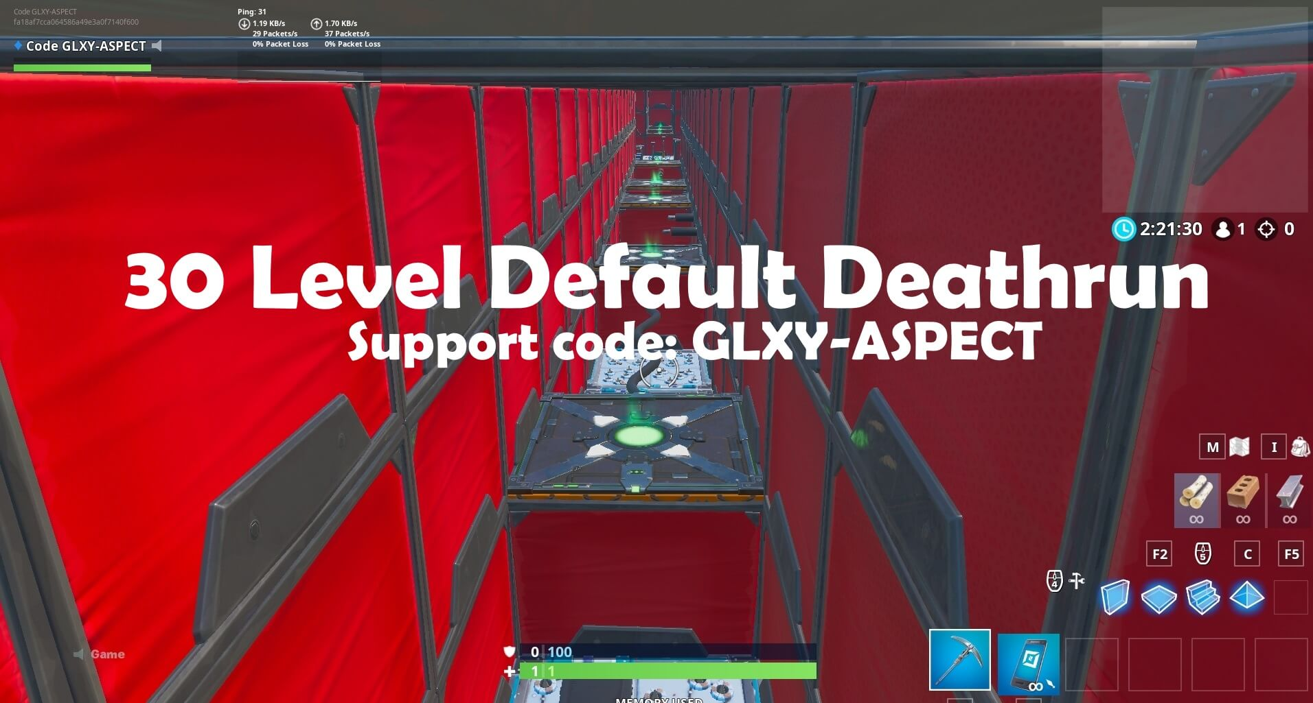 30 LEVEL DEFAULT DEATHRUN
