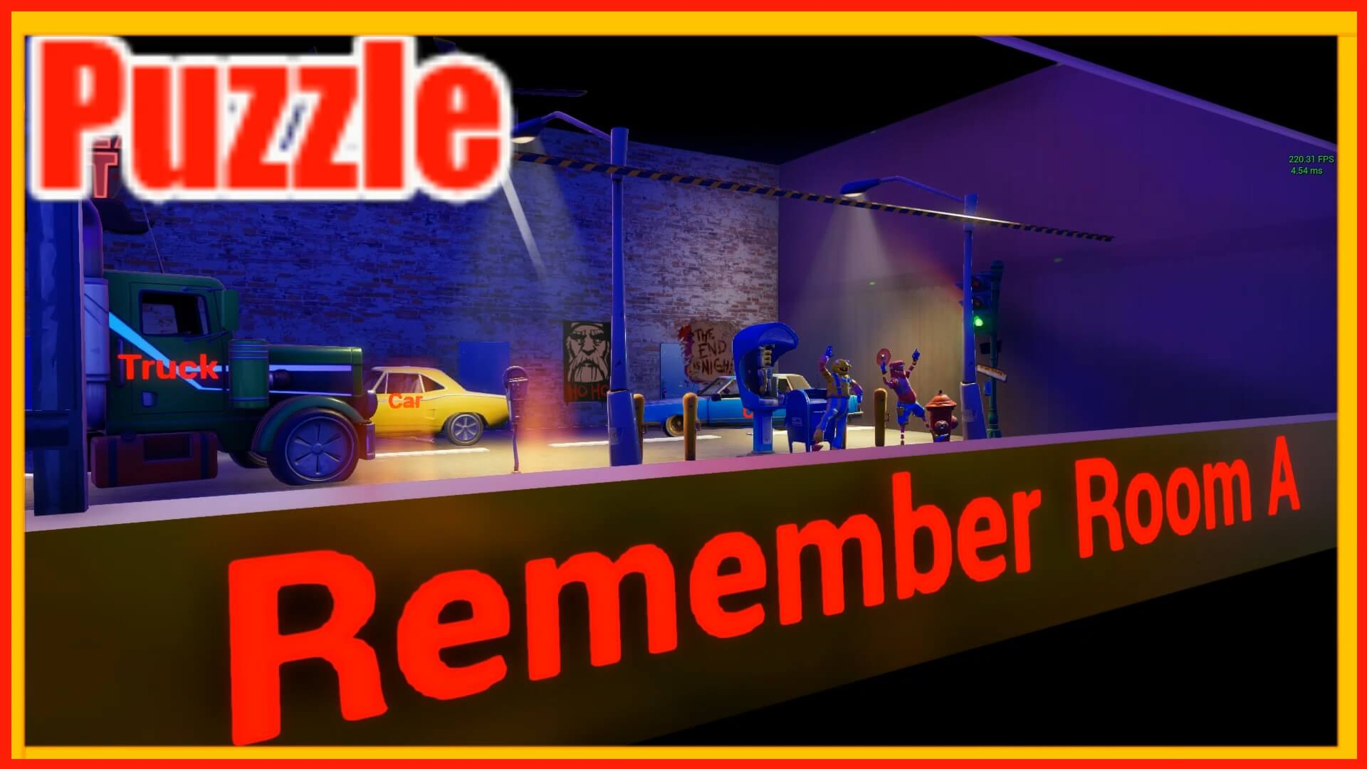 THE PUZZLE ESCAPE FOR STREAMERS 1.0