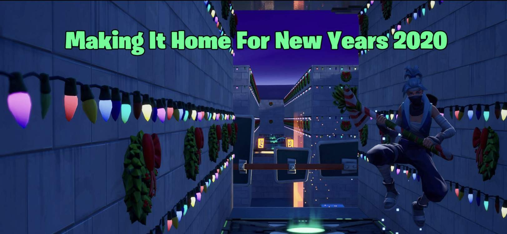 MAKING IT HOME FOR NEW YEARS 2020