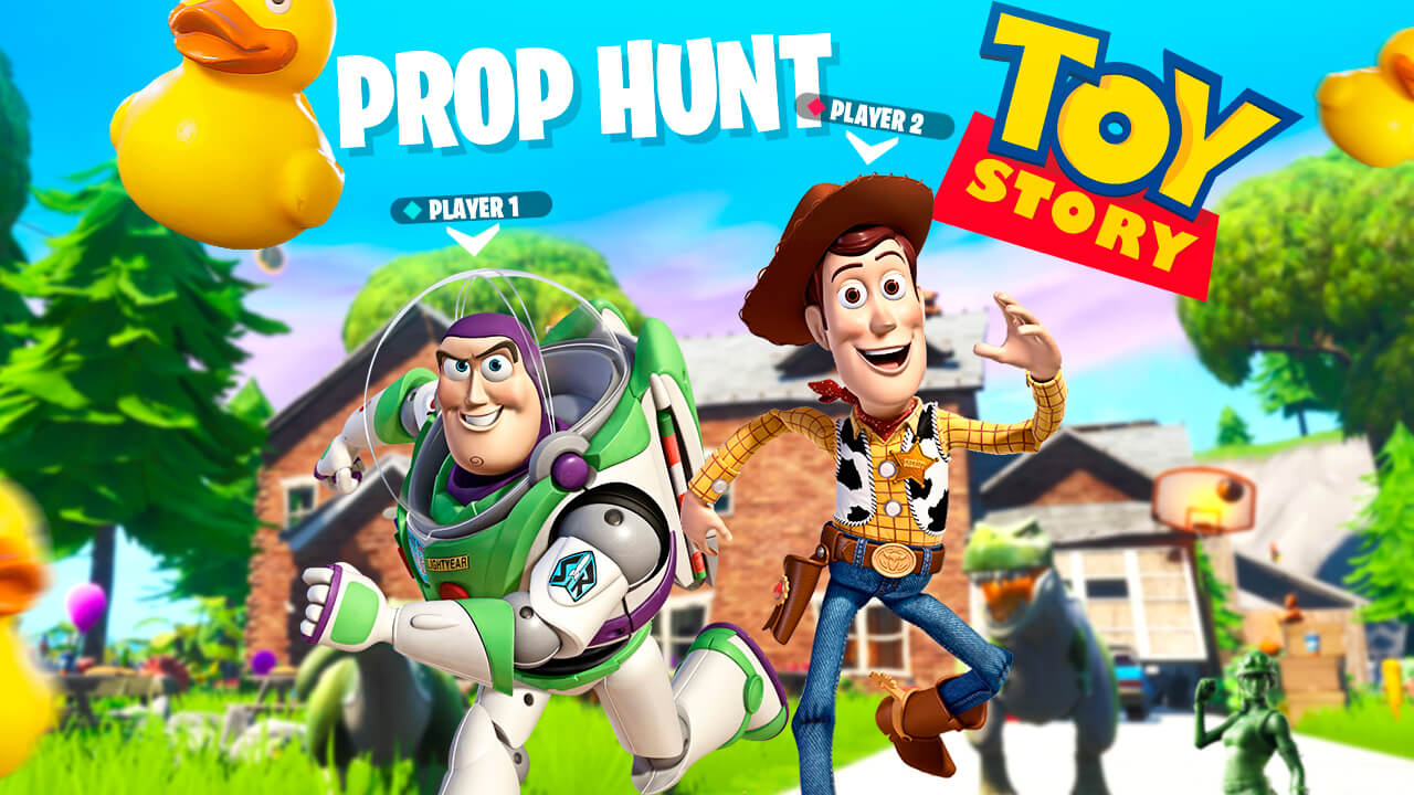 TOY STORY - PROP HUNT