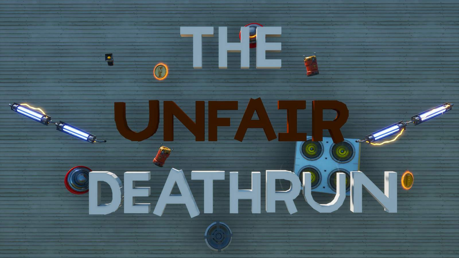 THE UNFAIR DEATHRUN - 10 LEVELS
