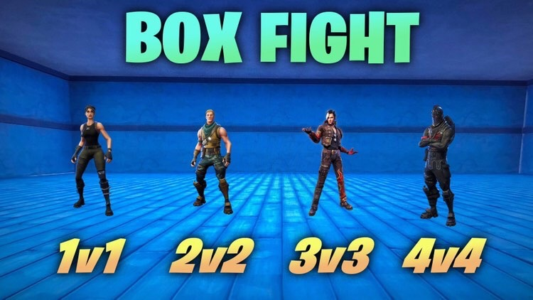 BOX FIGHT [1V1 2V2 3V3 4V4]