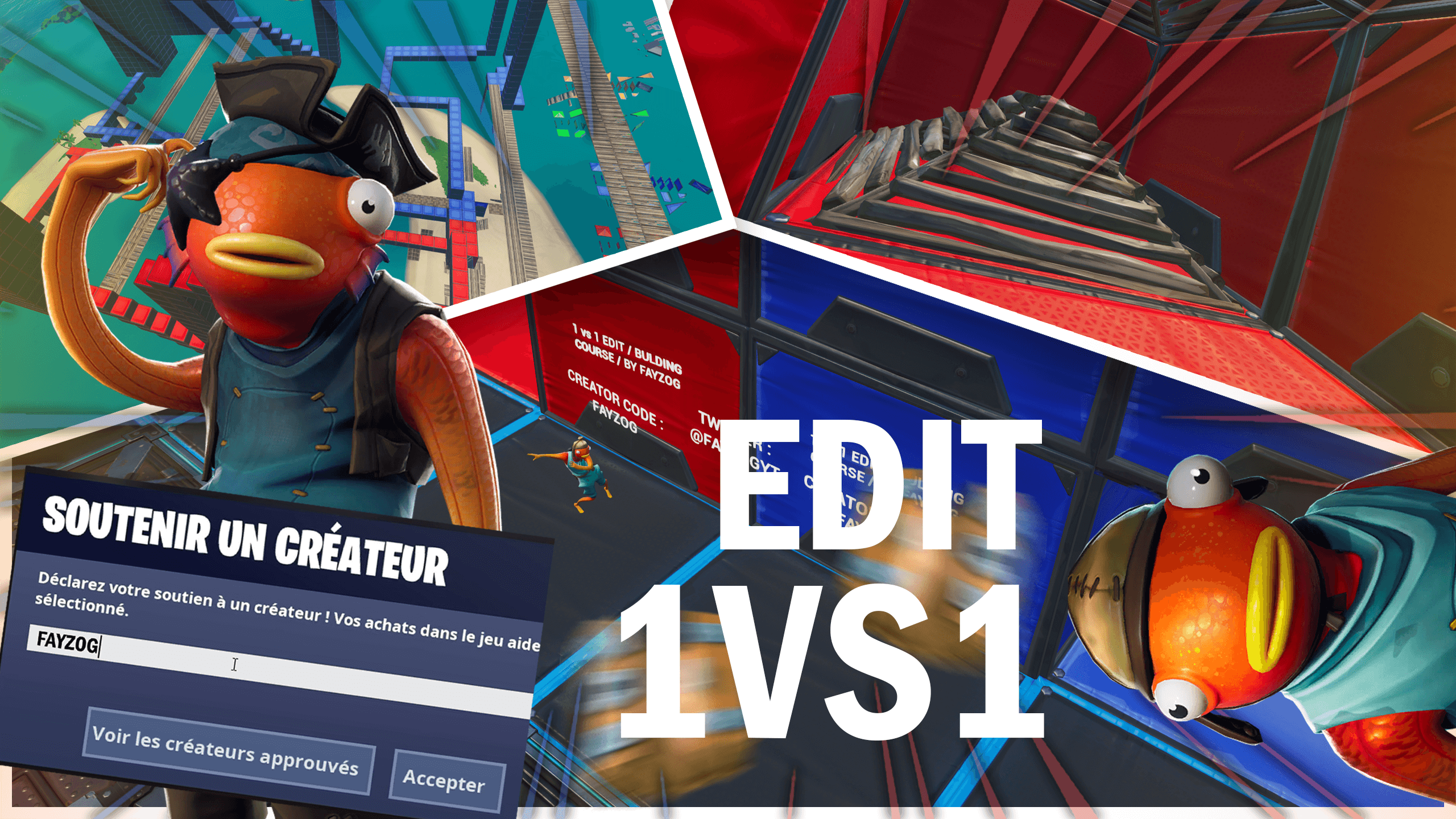 1VS1 EDIT / BUILDING COURSE |