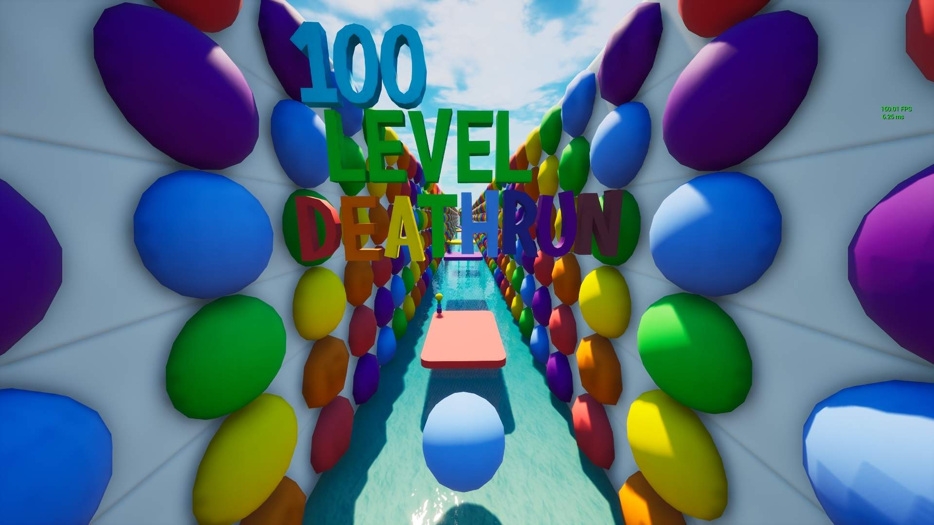 100 LEVEL RAINBOW DEATHRUN 🌈