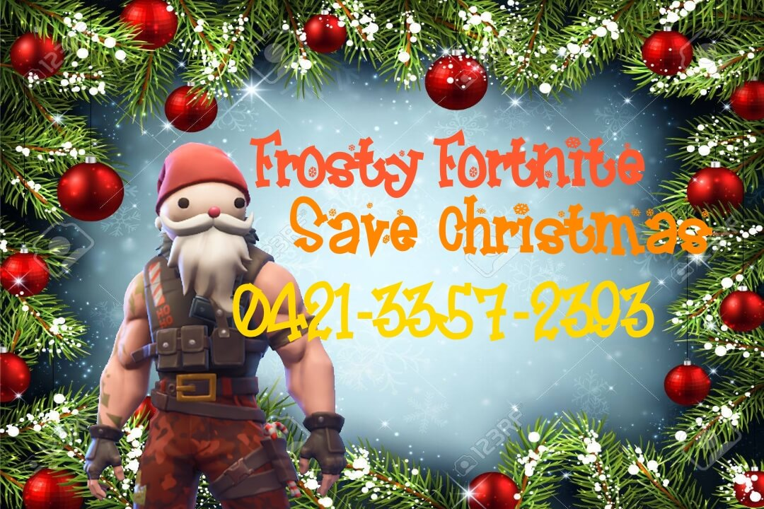 FROSTY FORTNITE: SAVE CHRISTMAS