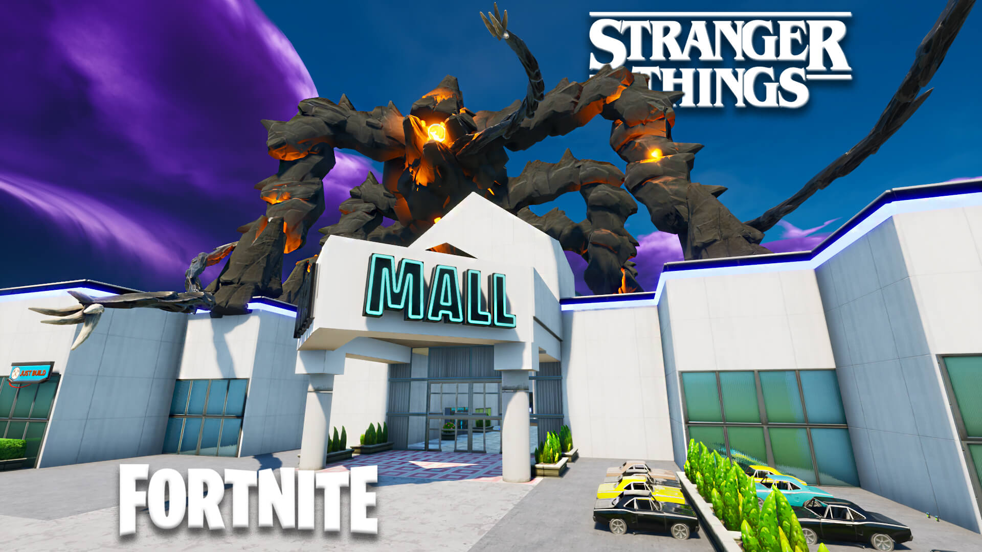 STRANGER THINGS STARCOURT MALL DEATHRUN