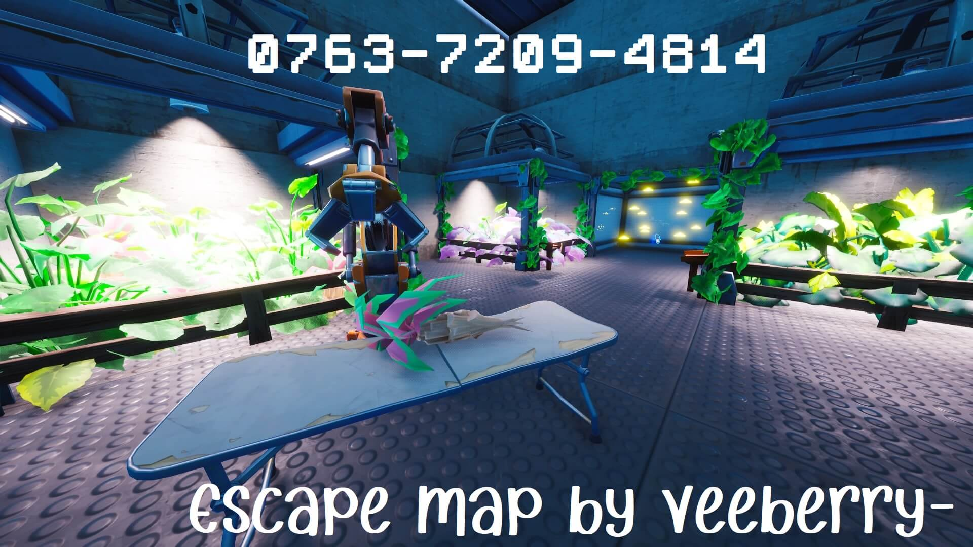 ESCAPE HUMAN TEST LAB