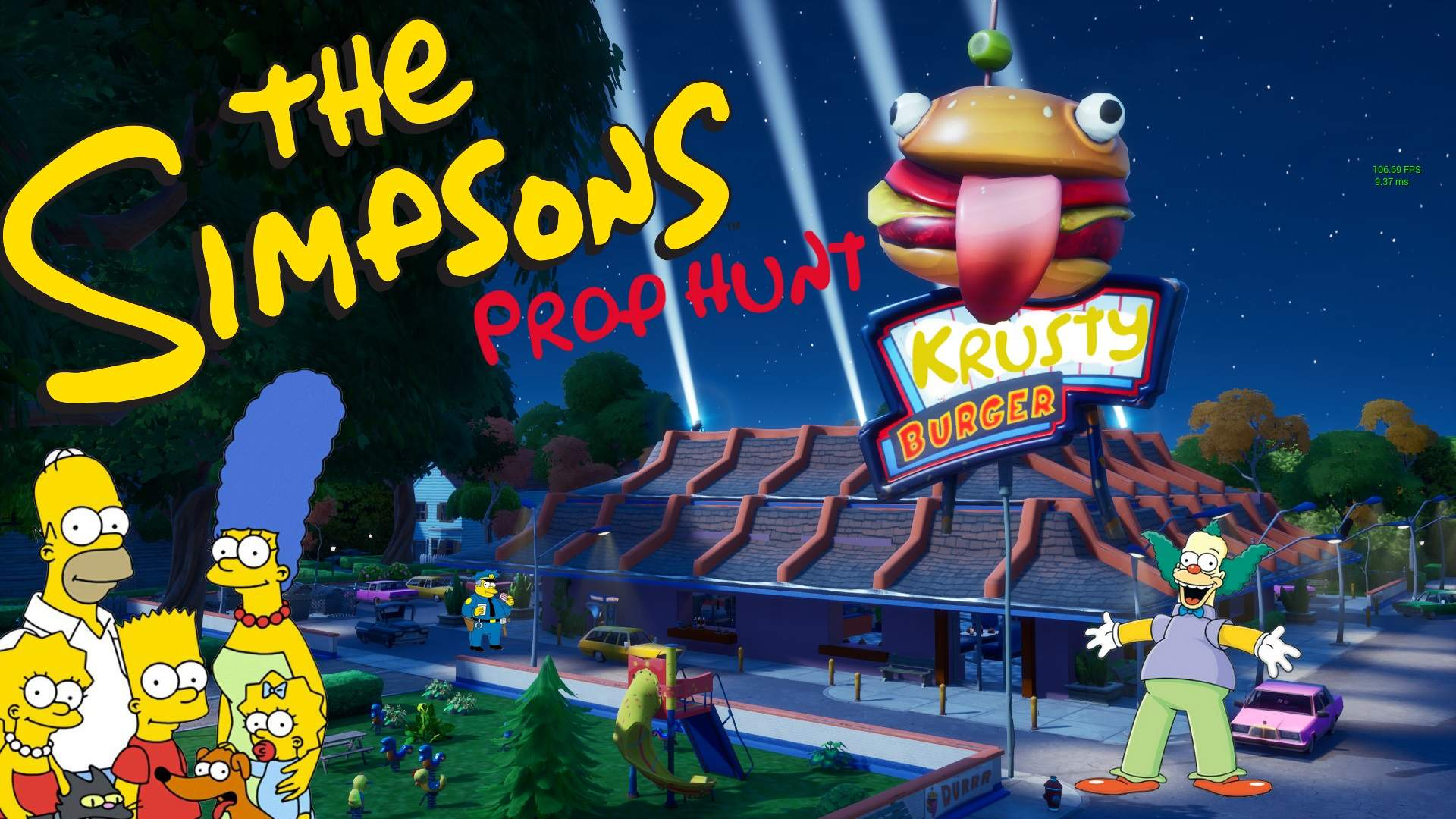 THE SIMPSONS - KRUSTY BURGER