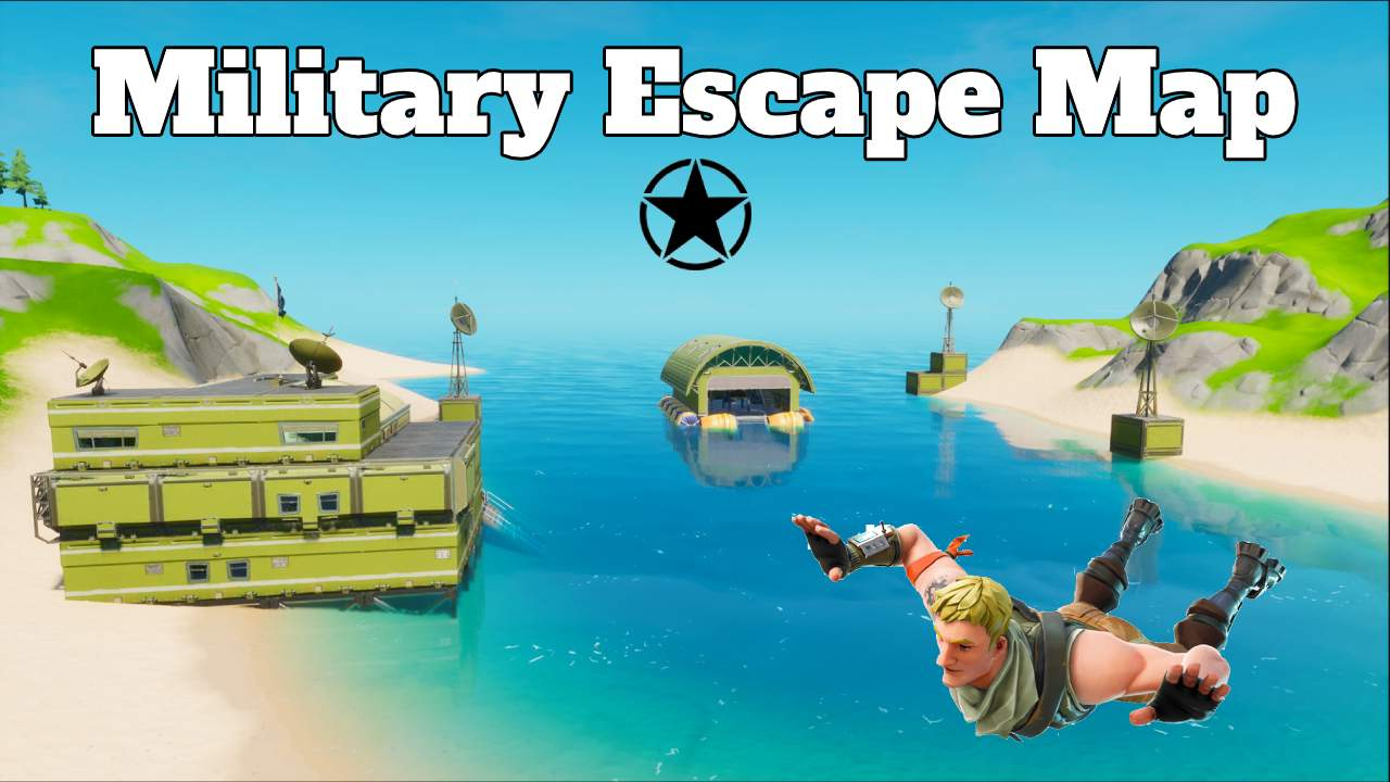 MILITARY ESCAPE MAP!