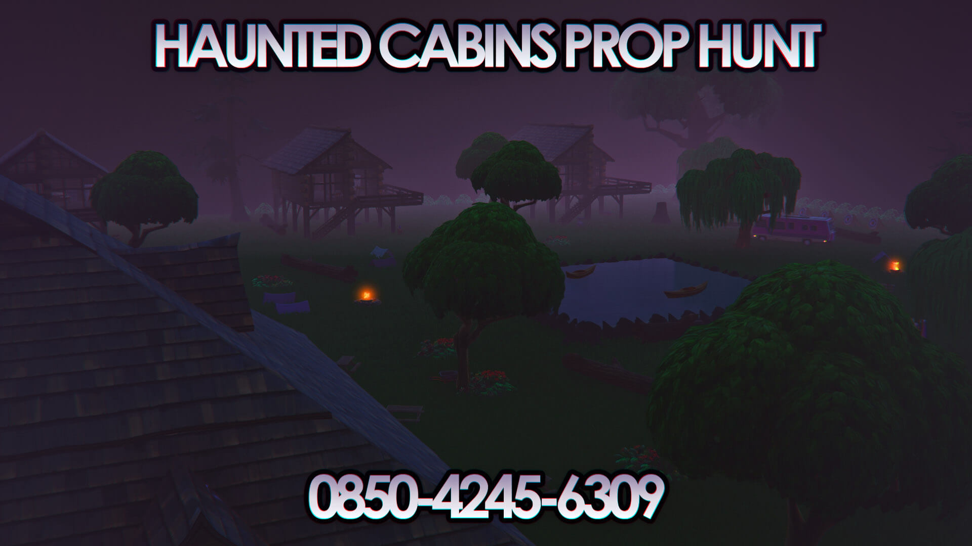 HAUNTED CABINS PROP HUNT