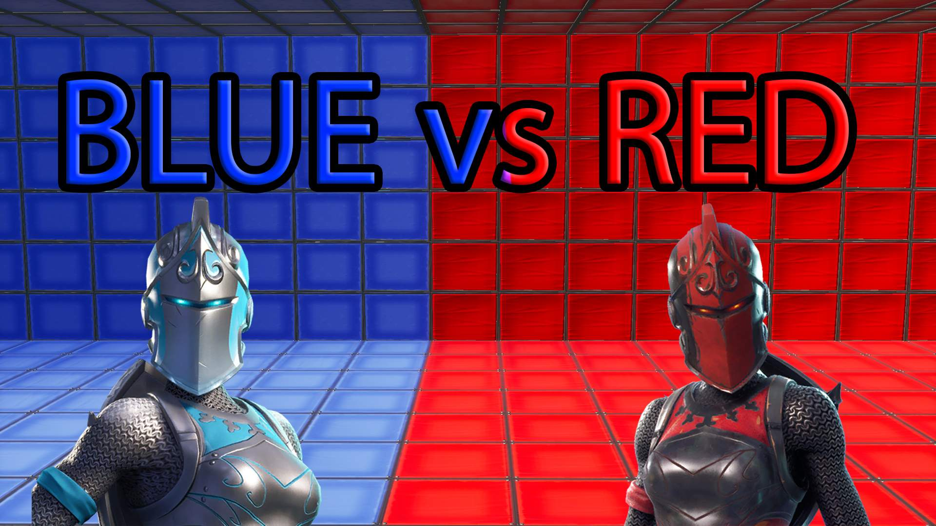 RED VS BLUE MAP