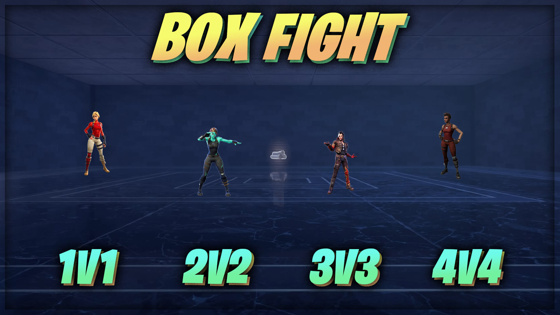 BOX FIGHT [1V1-4V4] [1V1V1V1]