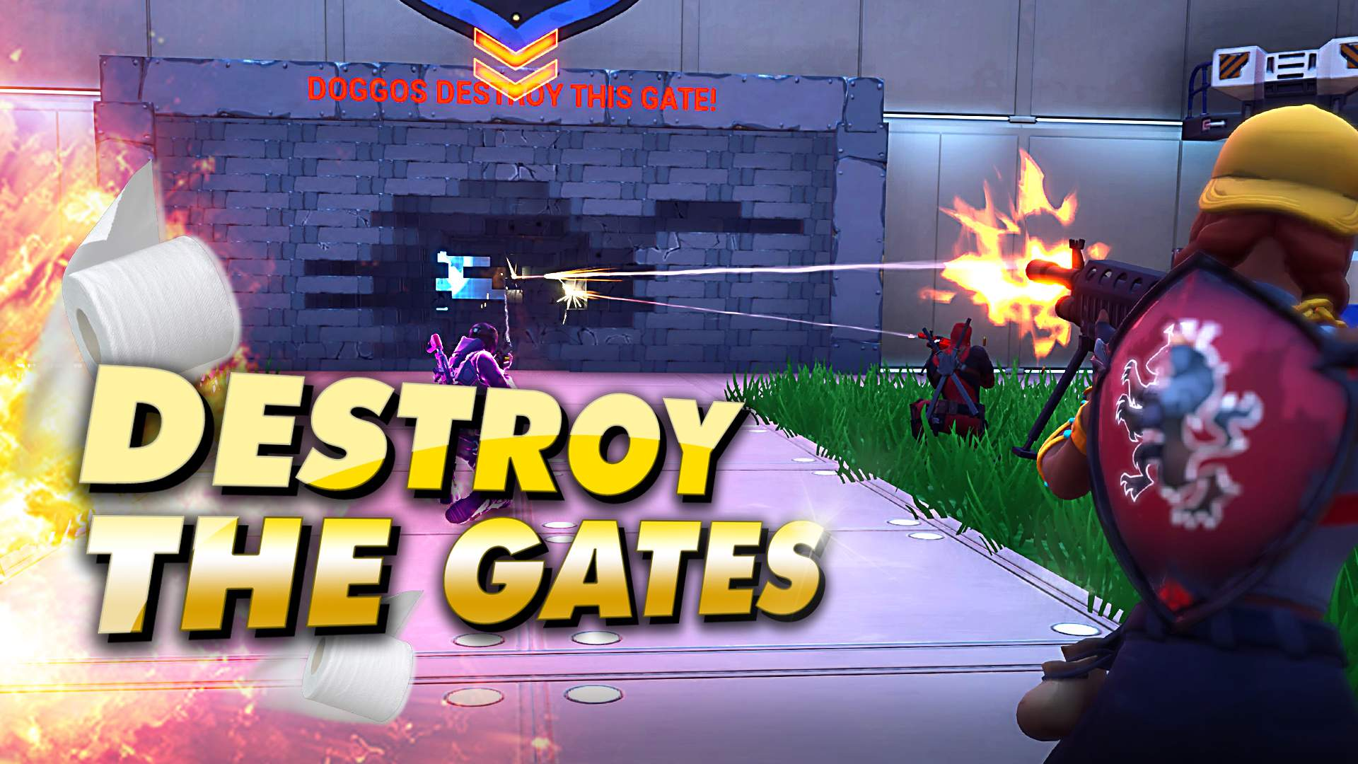 DESTROY THE GATES