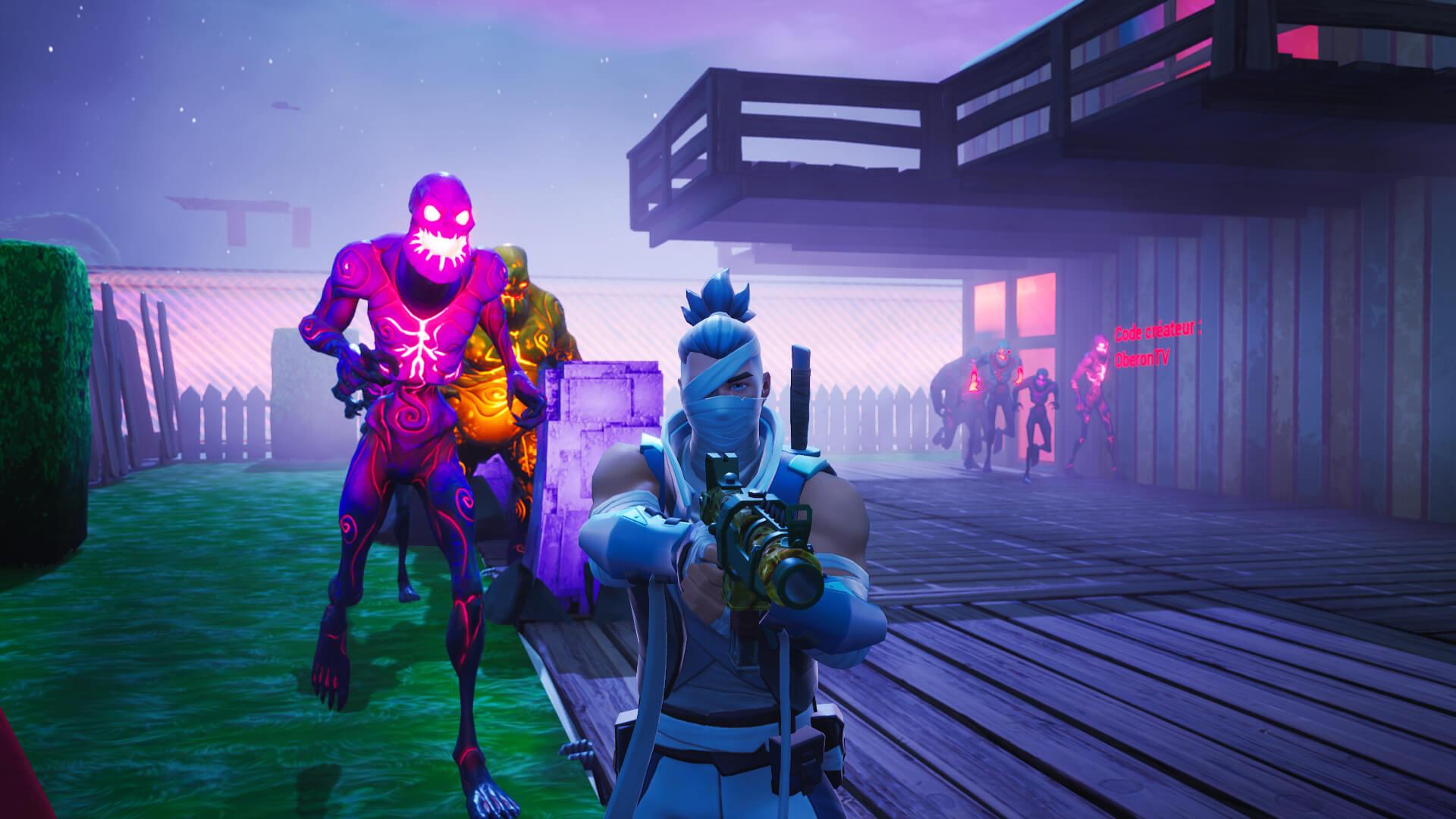 - fortnite nuketown zombies code