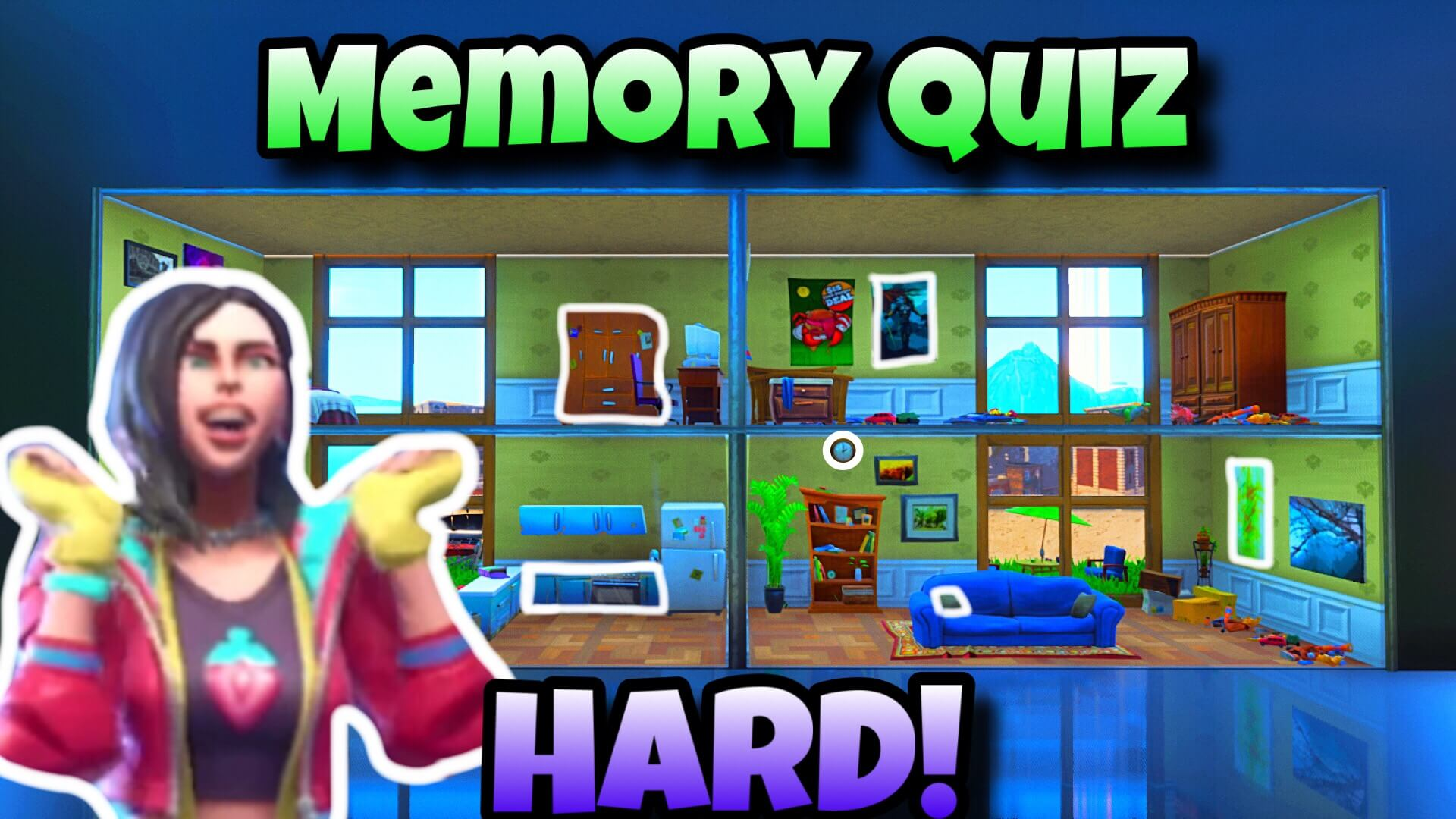 THE VISUAL MEMORY QUIZ (HARD)