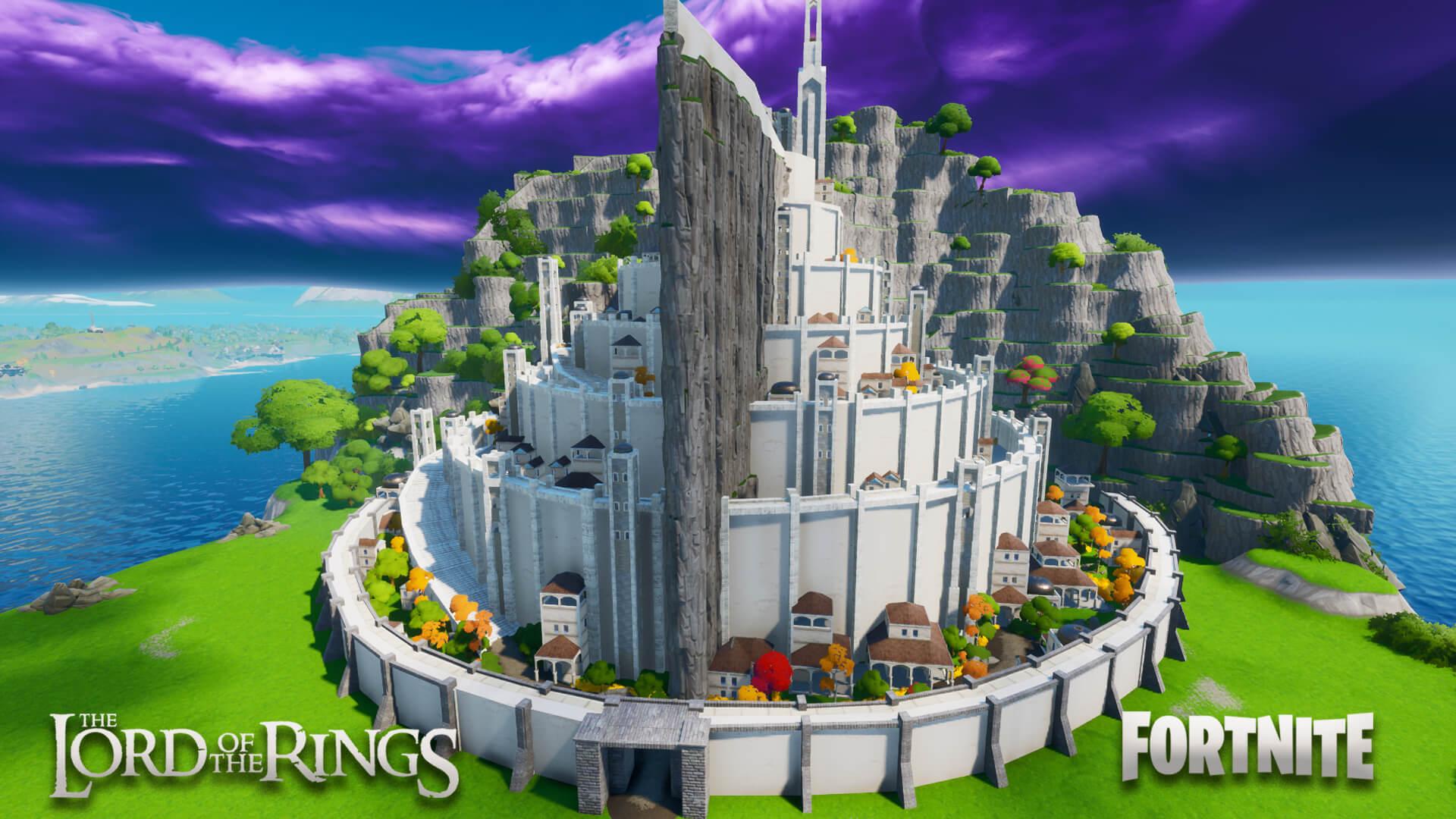MINAS TIRITH FROM THE LORD OF THE RINGS