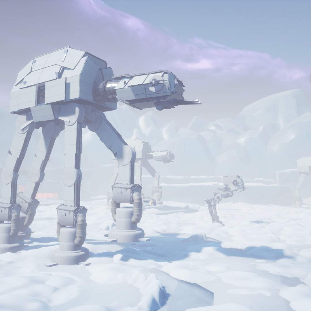 STAR WARS BATTLE ON HOTH