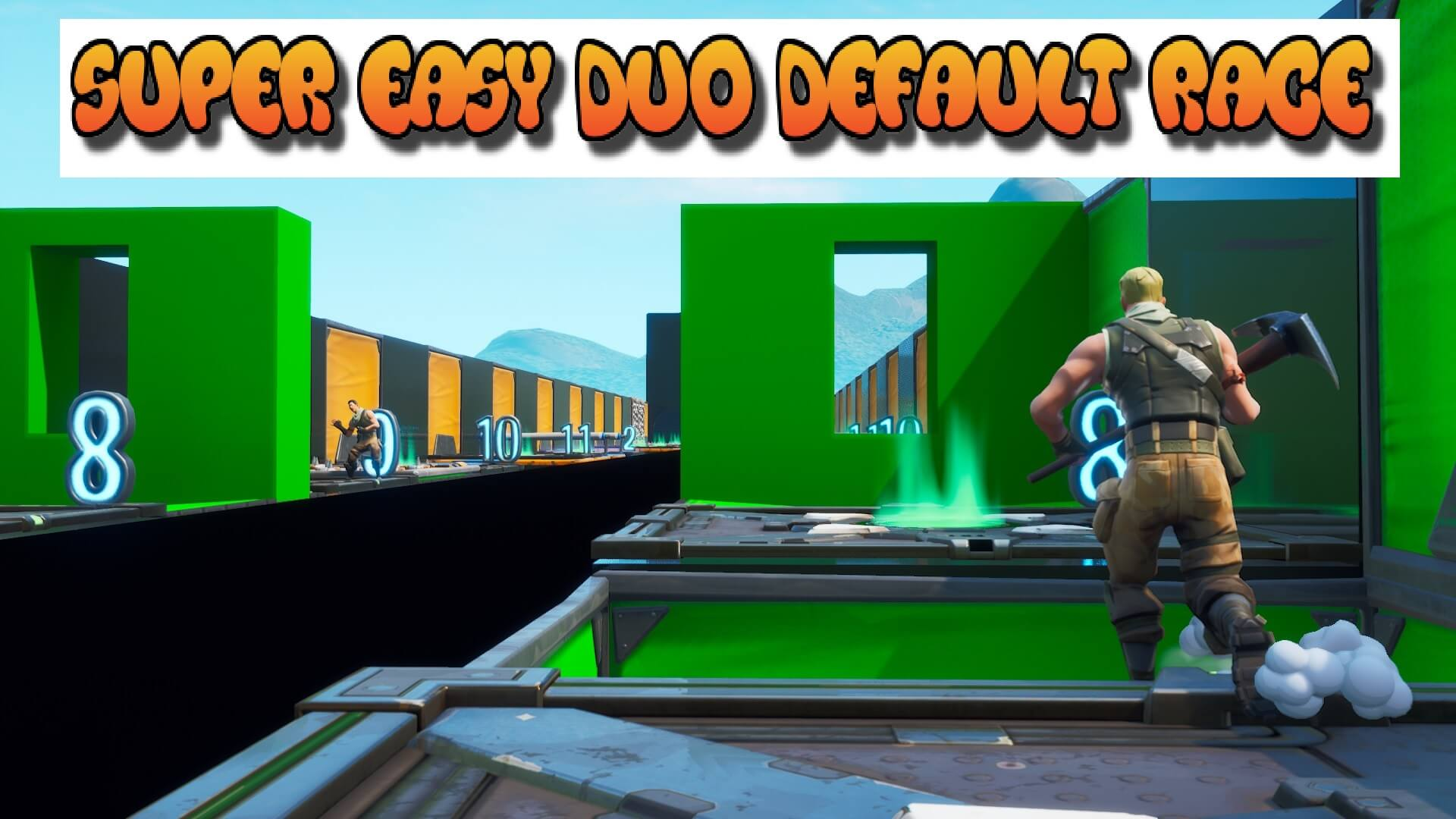 REELIZZZ SUPER EASY DUO DEFAULT RACE