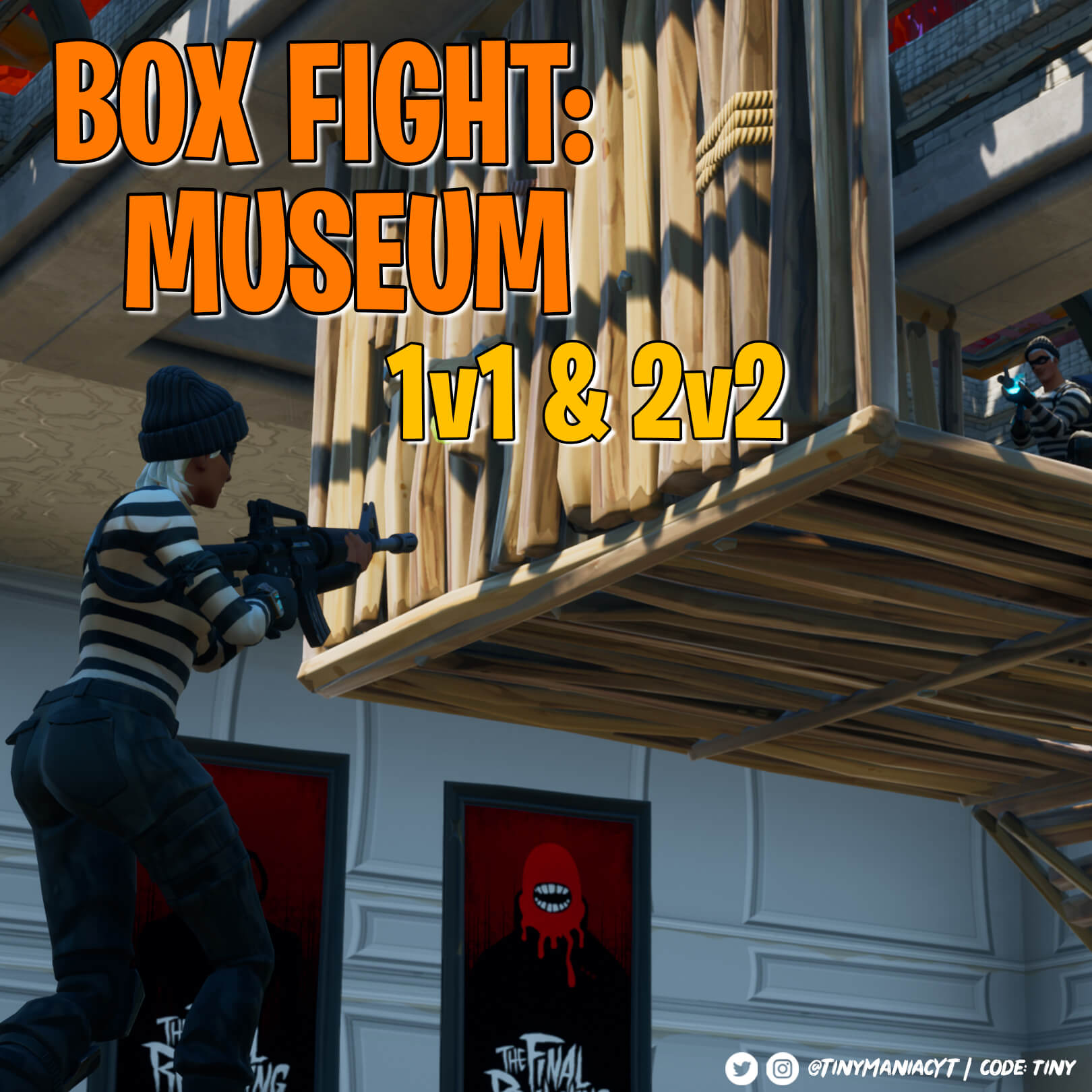 BOX FIGHT: MUSEUM | 1V1 & 2V2