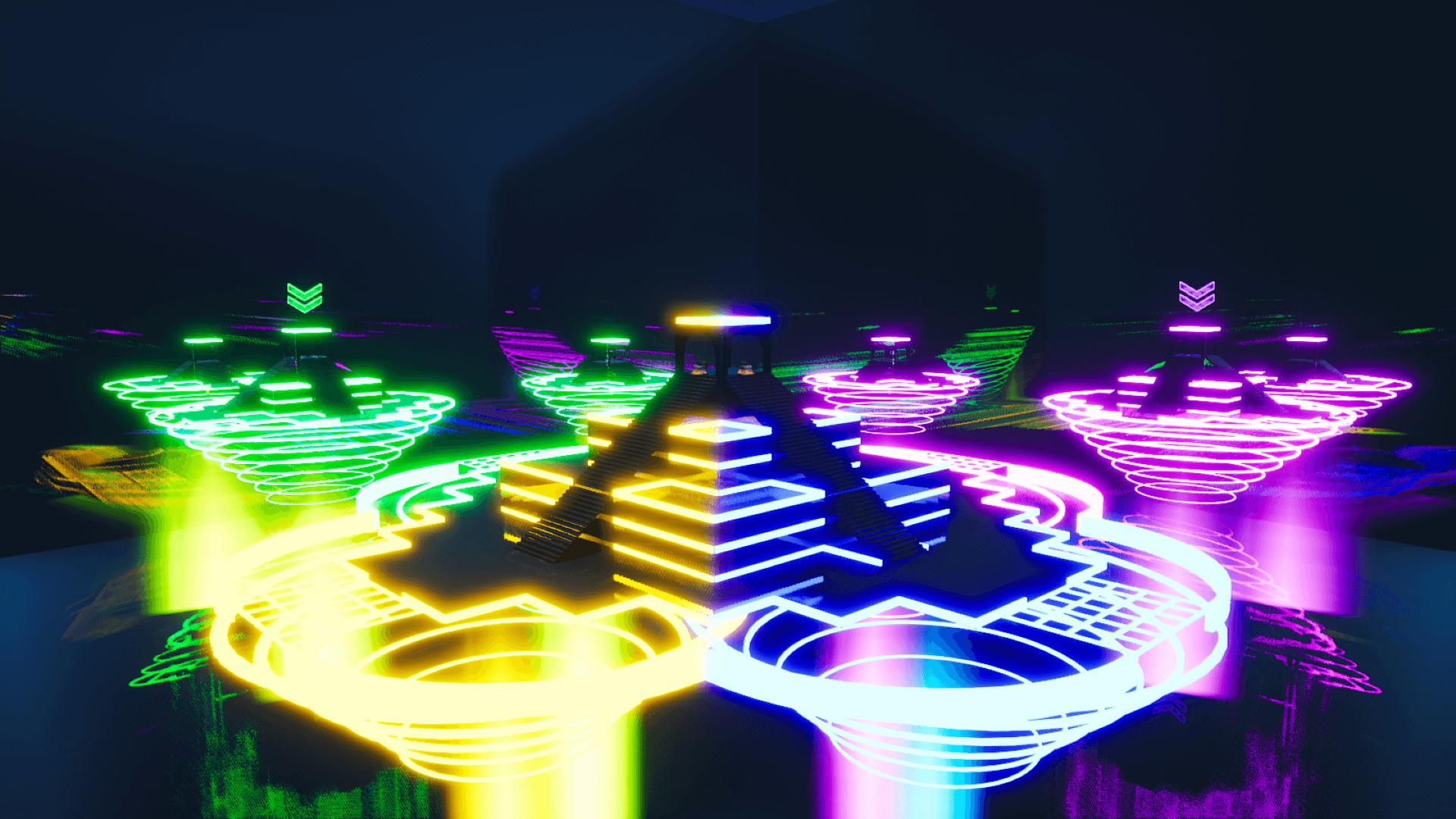 Neon Sky Wars Fortnite Creative Map Codes Dropnite Com