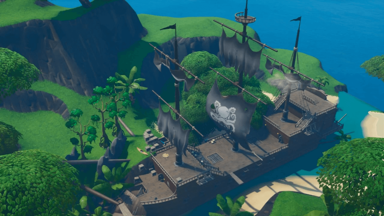 PIRATE'S COVE ESCAPE MAP