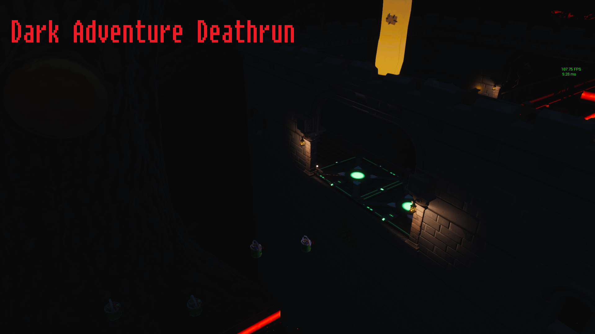DARK ADVENTURE DEATHRUN BY PAN_GO