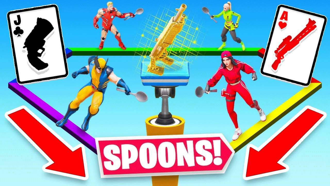 SPOONS FOR YOUR LOOT!