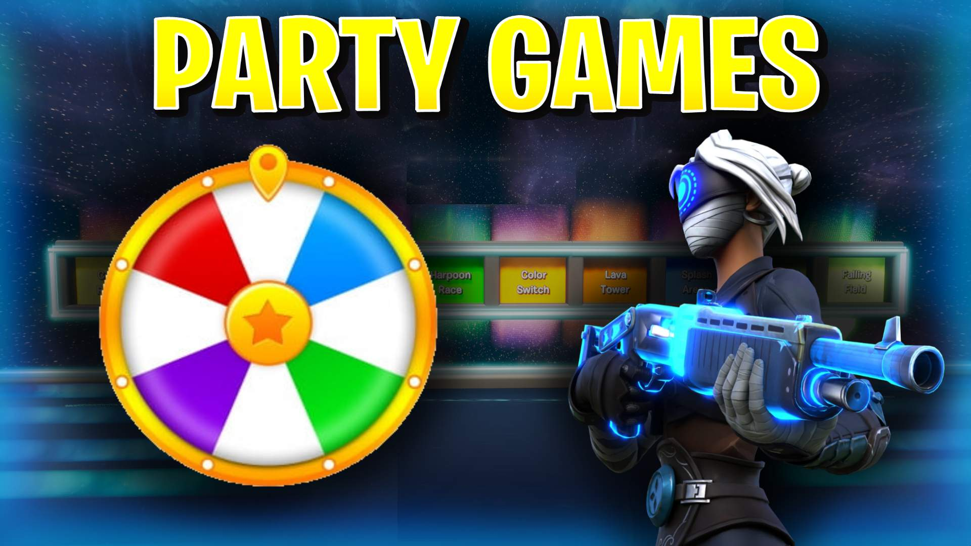 GALAXY PARTY 10 MINIGAMES