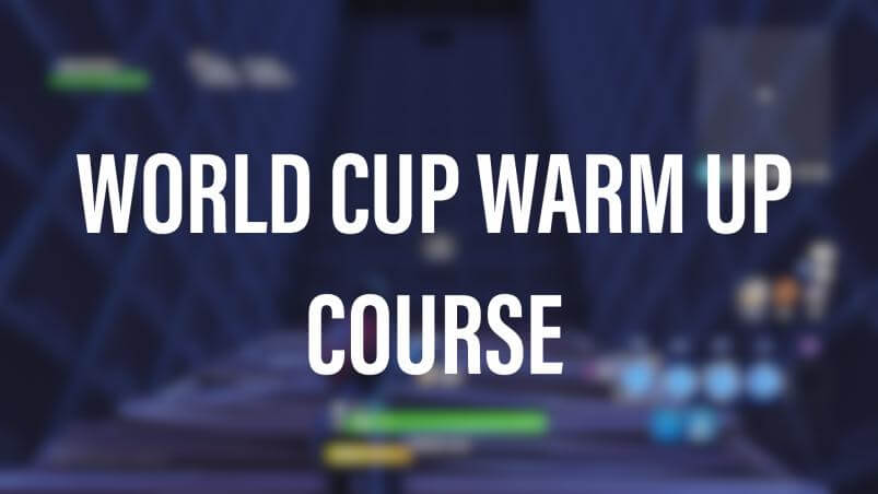 FORTNITE WORLD CUP WARM UP COURSE | DEMO - Fortnite Creative Codes