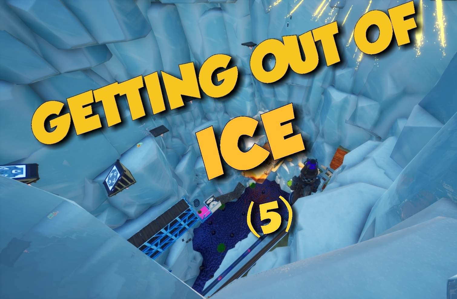 GETTING OUT OF ICE