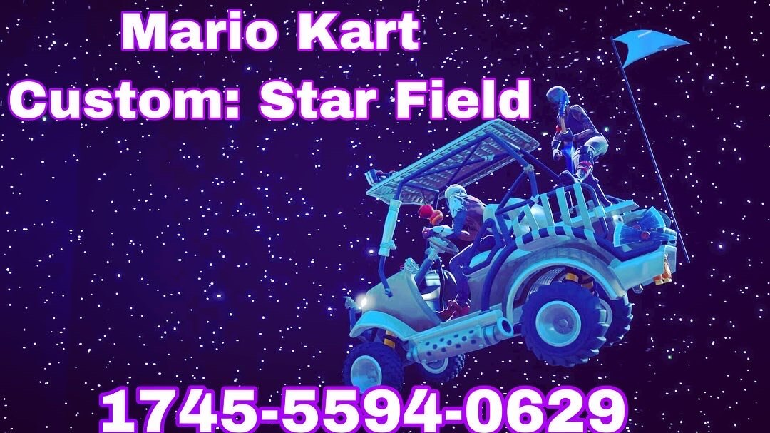 MARIO KART CUSTOM: STARFIELD