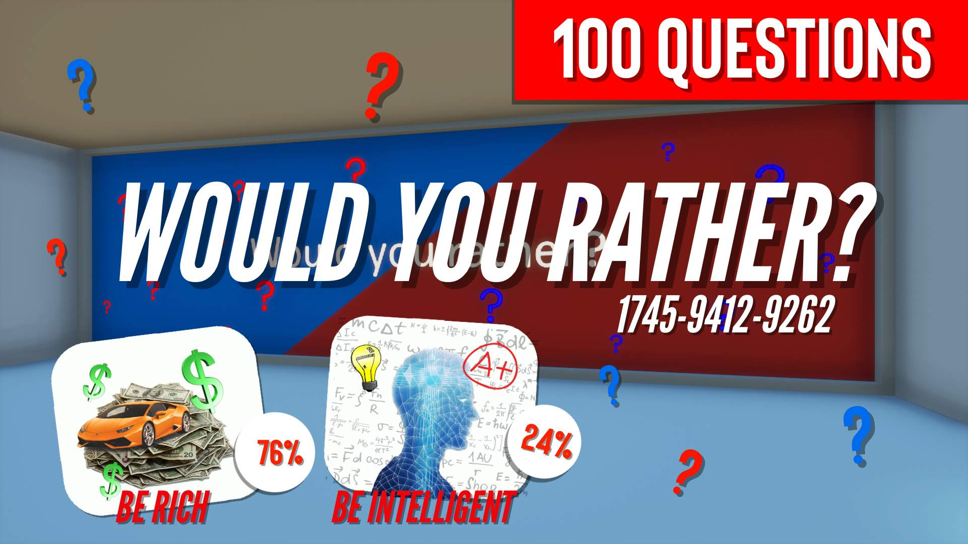 WOULD YOU RATHER 100 QUESTIONS