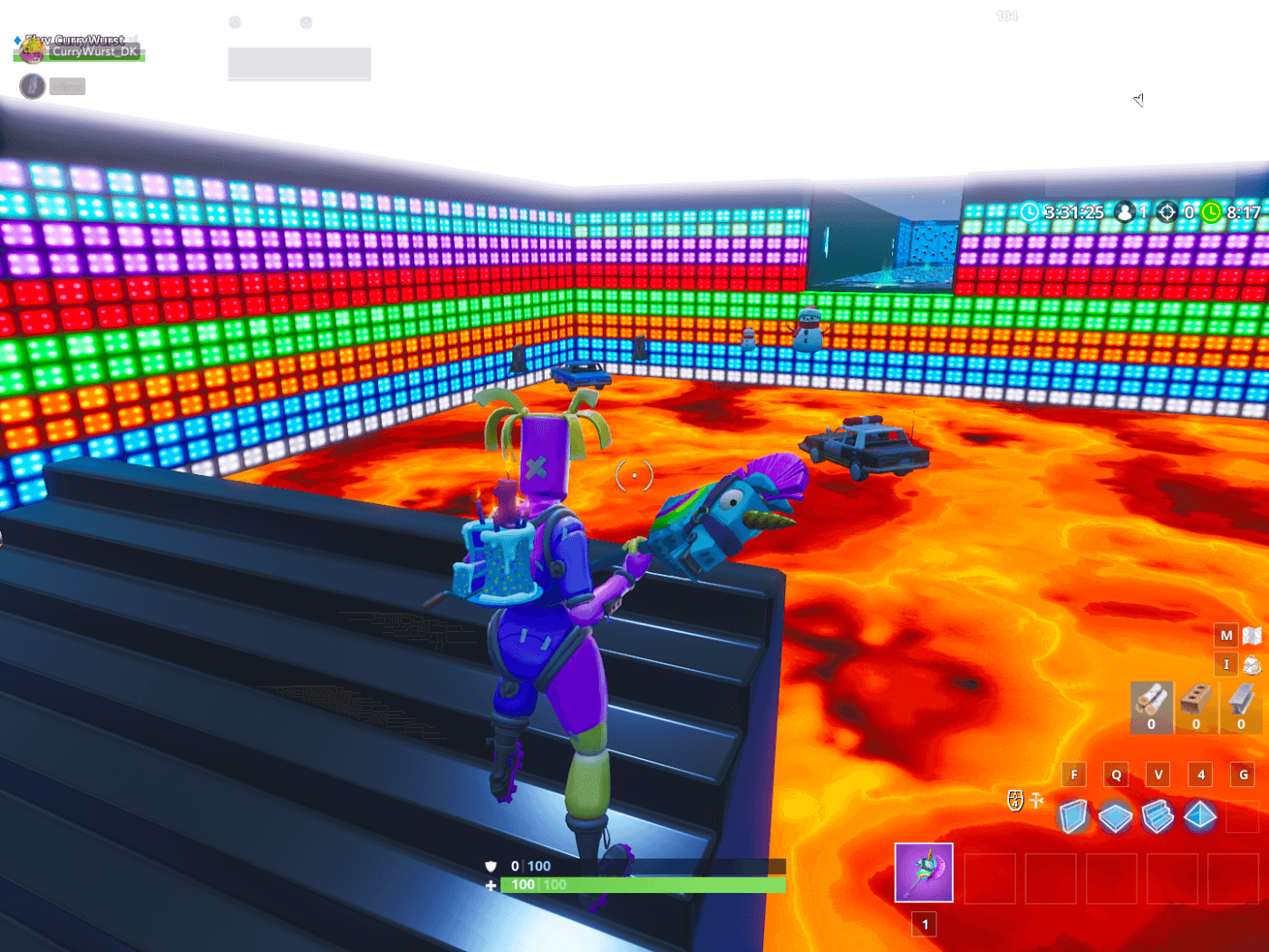 100 Level Default Deathrun Fortnite Creative Map Code