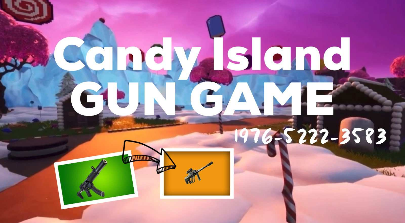Candy Island GUN GAME