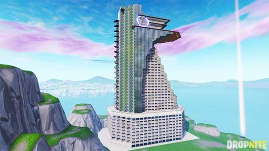 tony s tower - fortnite creative modern house code