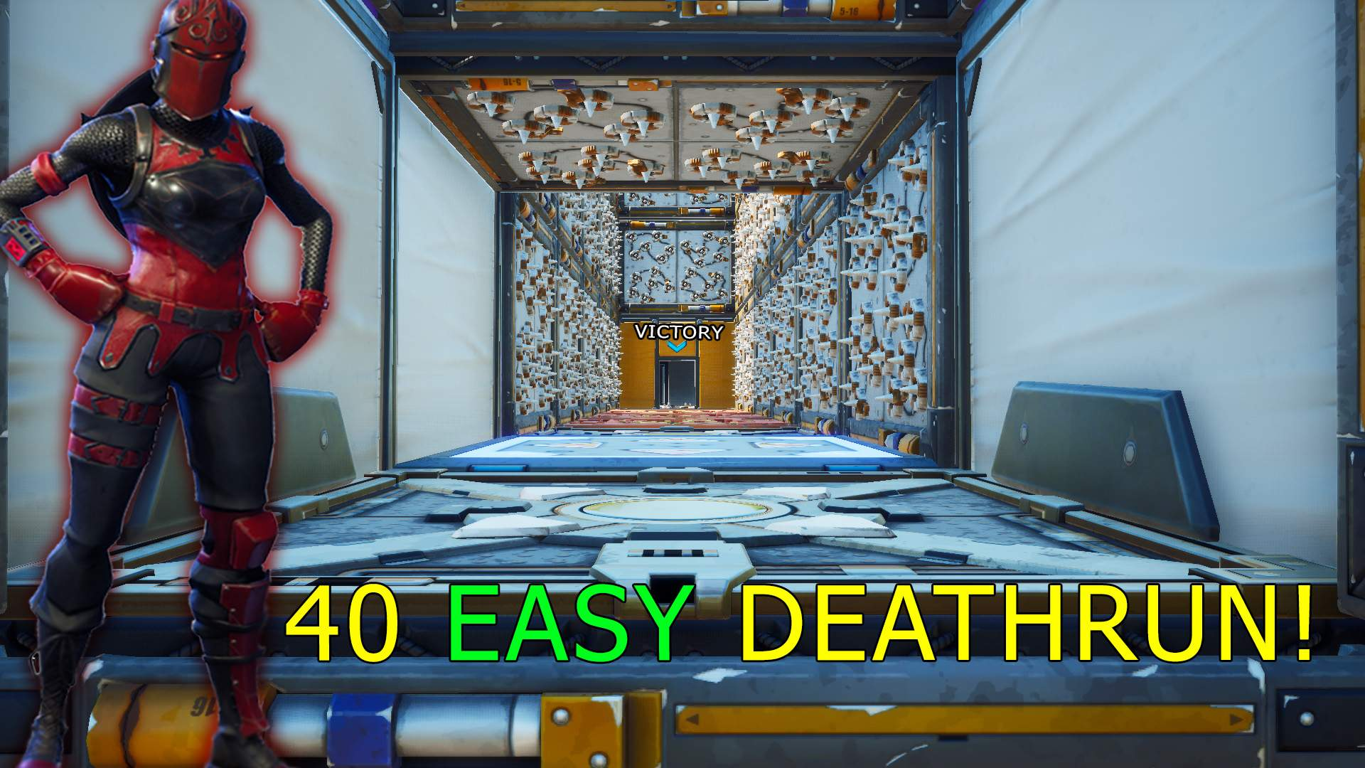 WHAT? 40 LEVEL  *EASY* DEFAULT DEATHRUN