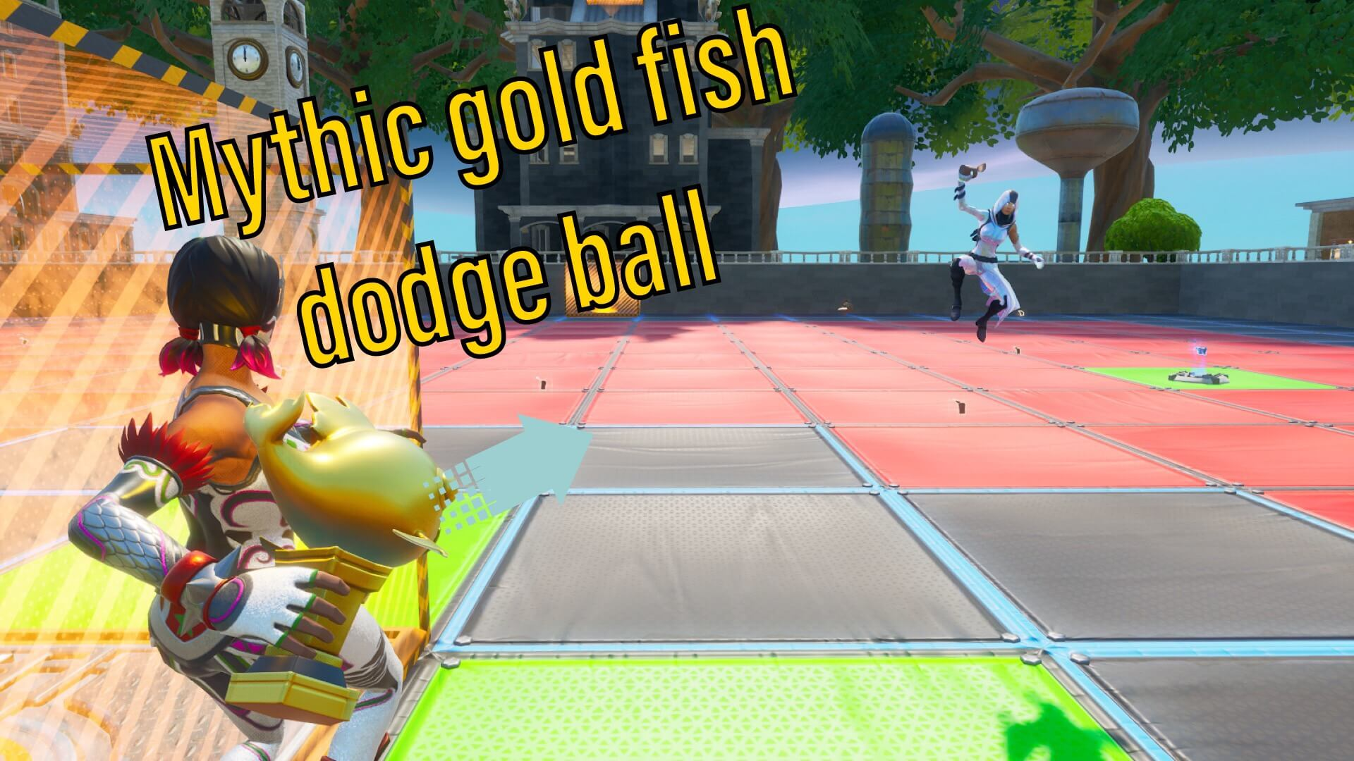 GOLD FISH DODGE BALL