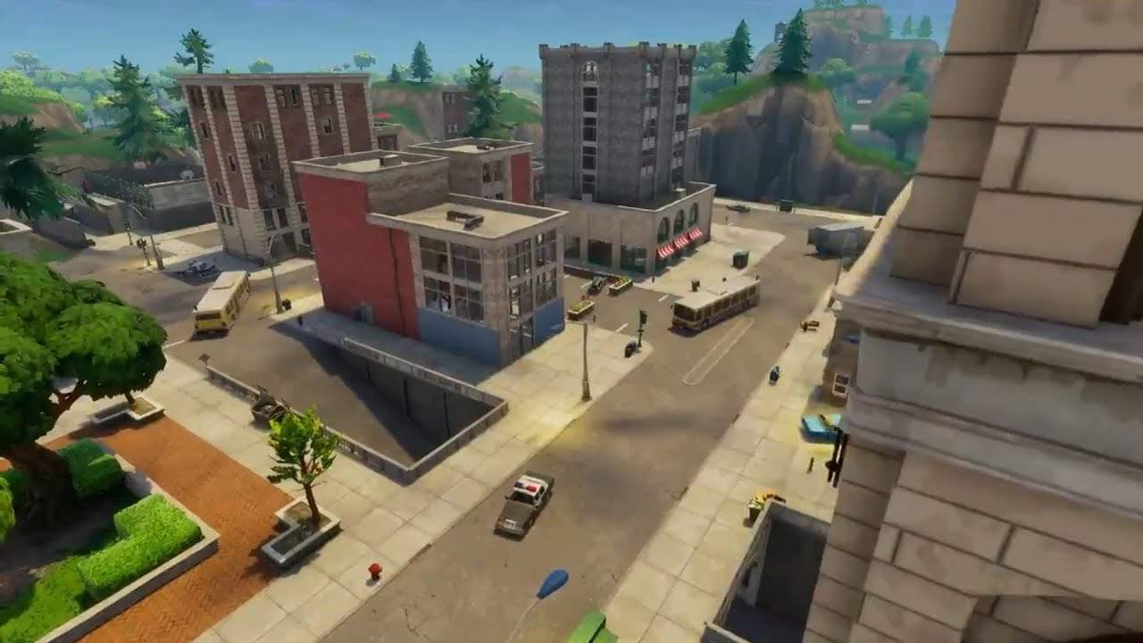 OLD TILTED TOWERS PVP MAP
