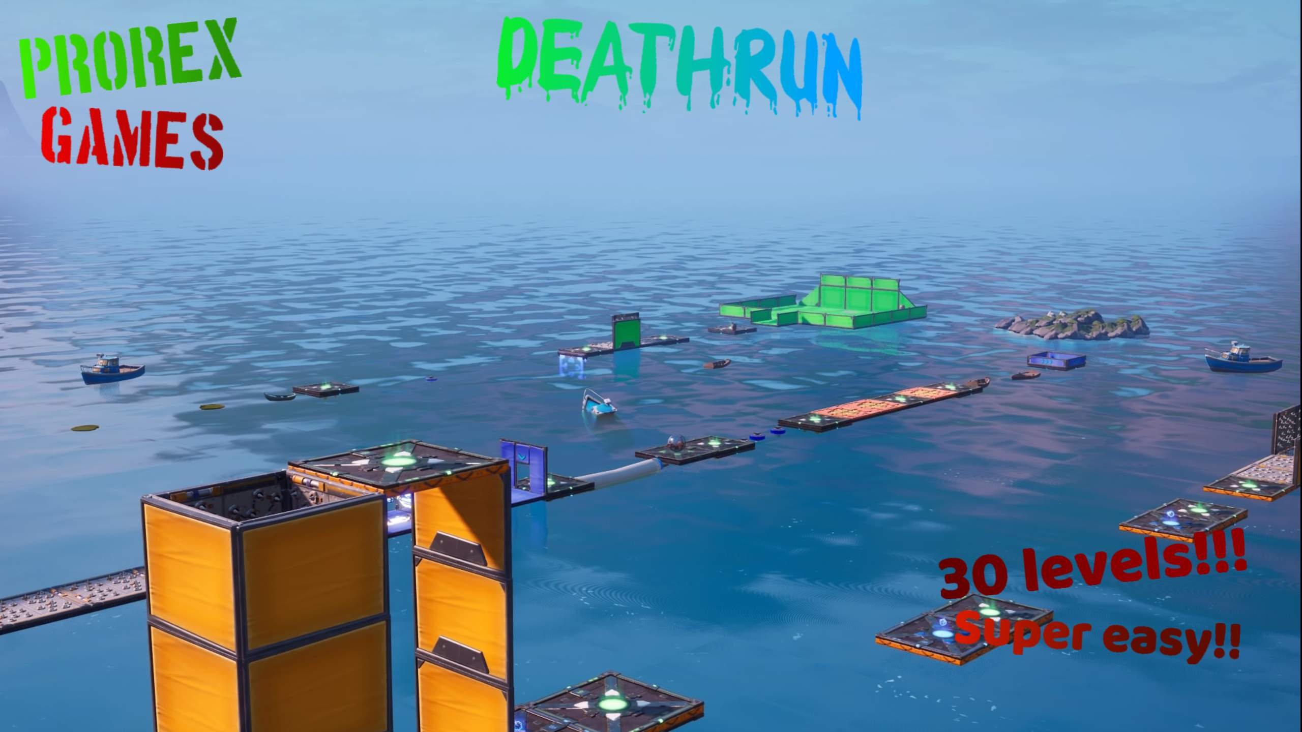 30 LEVEL EASY DEATHRUN