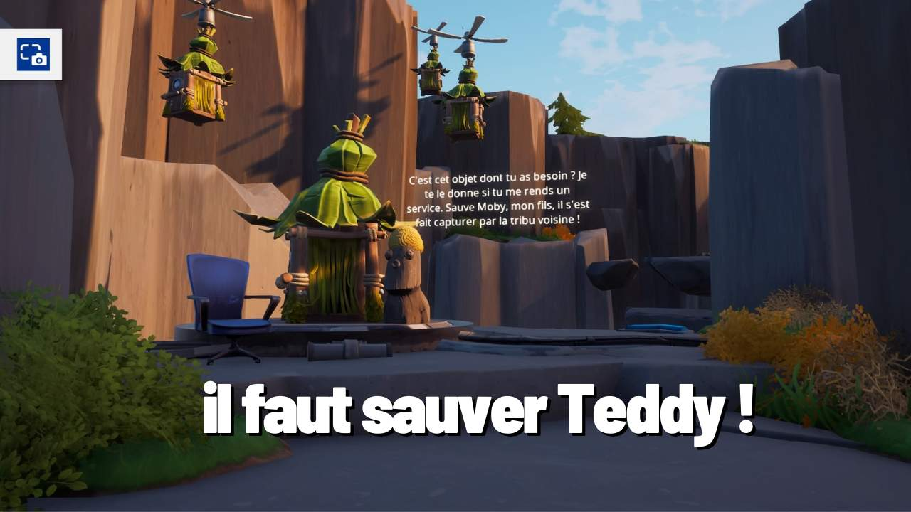 IL FAUT SAUVER TEDDY (ESCAPE GAME)
