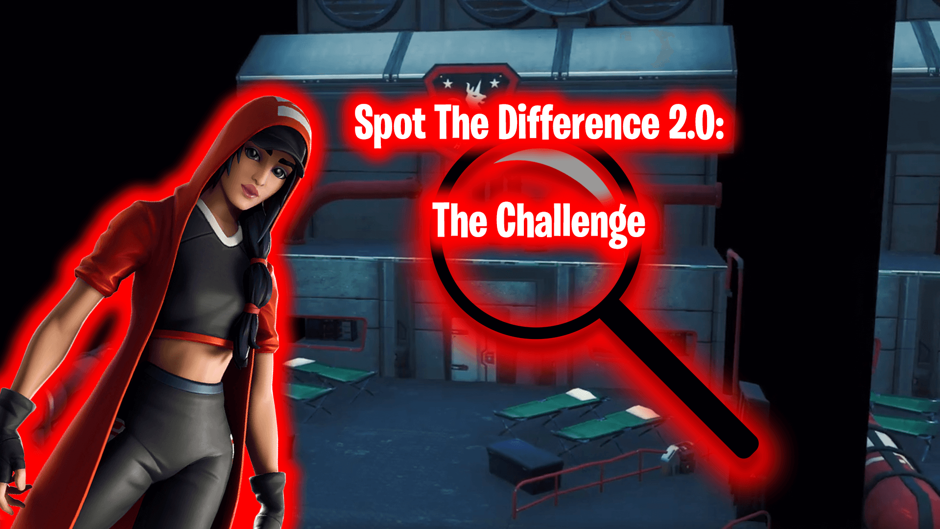SPOT THE DIFFERENCE 2.0: THE CHALLENGE