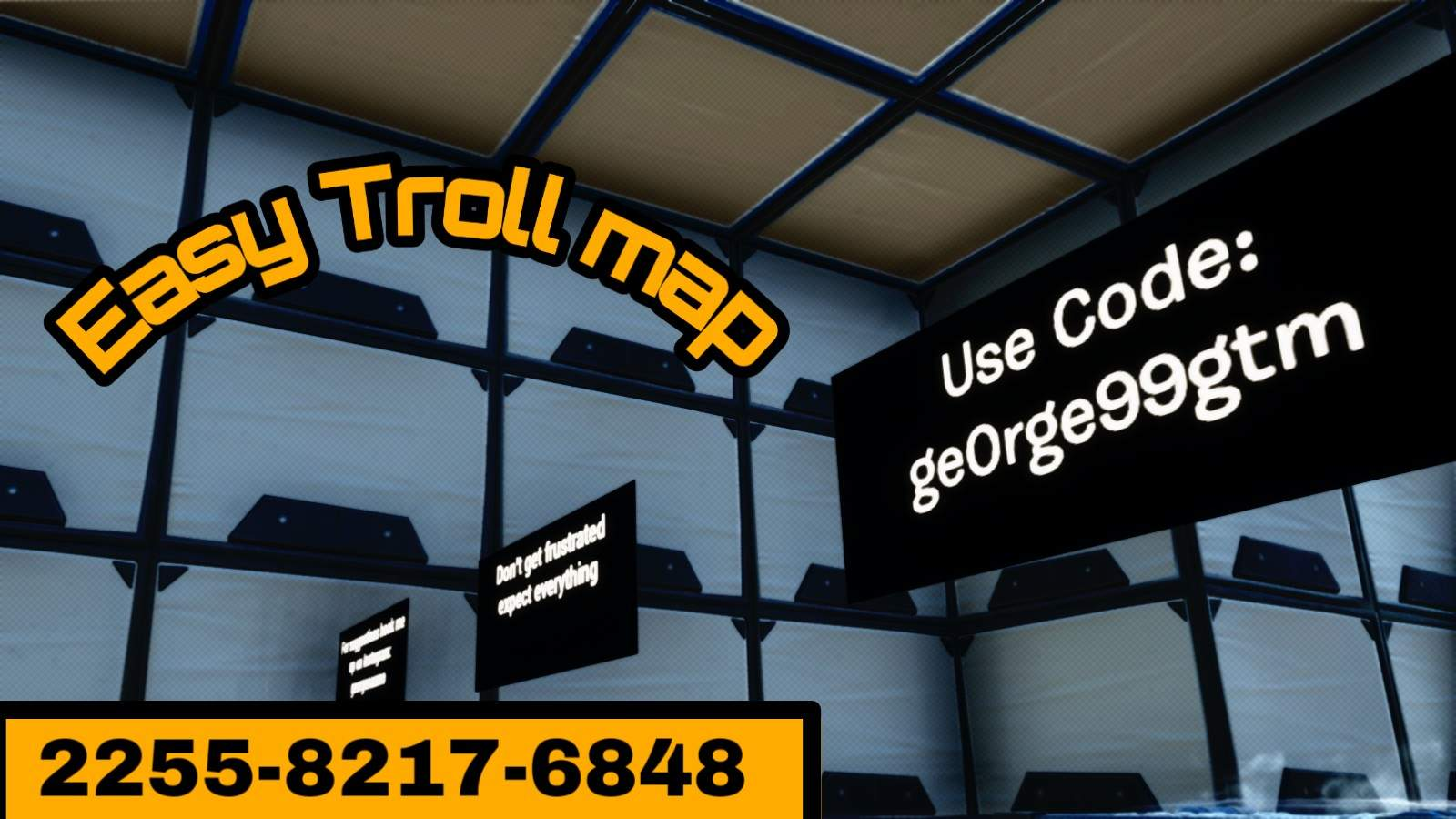 TROLL MAP BY GE0RGE99GTM